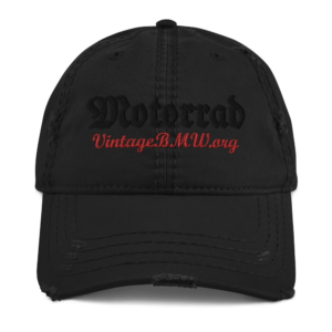 Distressed Motorrad Hat